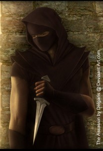The Assassin by Deligaris @ deviantart