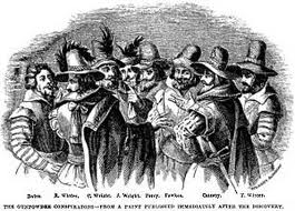 Guy Fawkes Conspirators:  using conflict to resolve political differences