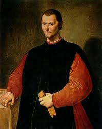 "Niccolo Machiavelli, who advocated the principle of ""The end justifies the means."""